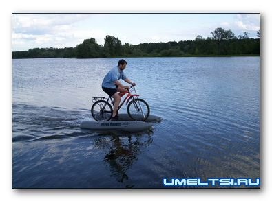 Bike - catamaran with your hands